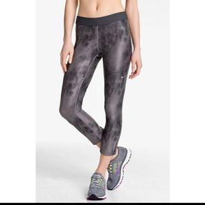 Nike  Grey Tie-Dye Leggings S